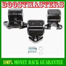 Engine Torque Mount Kit fit 92-95 Honda Civic 93-97 Honda Civic Del Sel BLACK