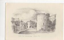 The Walls of Tenby, Judges S.1020 Art Postcard, A889