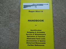 Ruger Mini 14 .223 or 5.56mm Rifle Manual 34 Pg.  NEW