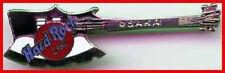 Hard Rock Cafe OSAKA 1990s KISS Gene Simmons AXE Guitar PIN HRC Logos 3LC #6990