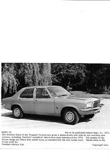 "Vauxhall victor 2300 sl press photo 1973 pour 1974 ""brochure connexes"""