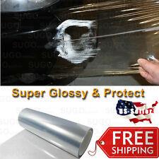 "60""x 5FT Clear Bra Paint Protection Film Vinyl Wrap Sheet Anti-Scratch Shield"