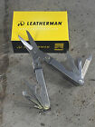 Leatherman Micra Multitool - Stainless Steel - 64010101K - 10 Tools Key Chain