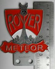 Land Rover Series 1 2 METEOR CLUB TEAM Badge Aluminium DEFENDER Vintage FOR SALE