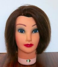 Hairart (?)  Mannequin DEBBIE 4122 beauty school practice  100% Human Hair