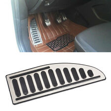 Fit For Ford Focus Fiesta Mondeo s-Max Chrome Footrest Pedal Cover Foot Rest Pad