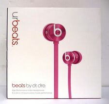 Genuine Beats Urbeats by Dr. Dre Pink Metal Edition Earbud In-Ear Headphone