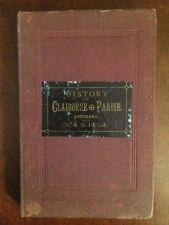 RARE 1886 History Claiborne Parish, North Louisiana, Pioneers Muster Death Rolls