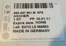 Audi A4 (And Cabriolet) Genuine Factory OEM Center Console Rear Ashtray - BLACK