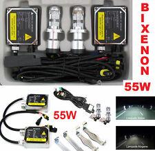 Kit luce H4 BIXENON ultra bianco 6000K omologato 55W. Xenon bixeno xeno auto 55