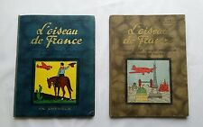 Lot BD - L'oiseau de France 3 En Amerique & 4 En Europe / HEDOIN & HERGE