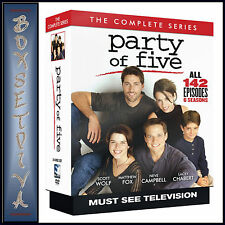 PARTY OF FIVE - COMPLETE SERIES - SEASONS 1 2 3 4 5 & 6 **BRAND NEW DVD BOXSET*