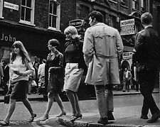 "Carnaby Steet 1960s Mods 10"" x 8"" Photograph no 13"