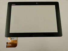 Vetro Touch screen Digitizer 10,1 Asus Transformer Pad TF300TG 69.10I21.G03 Nero
