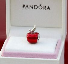GENUINE AUTHENTIC PANDORA DISNEY SNOW WHITE'S RED APPLE ENAMEL 791572EN73