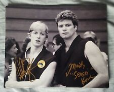 8X10 Autographed by William Zabka and Martin Kove in The Karate Kid