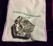 ANGEL GRAND Absolutely Stunning Barry Kieselstein Cord Sterling Silver Buckle