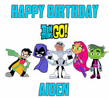 TEEN TITANS GO! T Shirt CUSTOMIZE Personalize Birthday gift favor