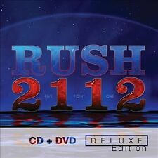 RUSH**2112 (DELUXE EDITION)**CD + DVD SET
