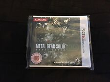 Metal Gear Solid Snake Eater 3ds Brand New