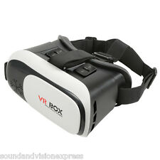 VR Box Virtual Reality Glasses for use with Games + Videos + 3D with Smart Phone