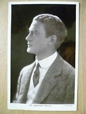 1914 Used Postcards- Theatre Actor MR. BERTRAM WALLIS