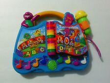 Mattel 2003 BARNEY the Dinosaur ABC & 123 Musical Book Learning Toy