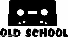 OLD SCHOOL  Car/Window/Van JDM VW VAG EURO Vinyl Decal Sticker