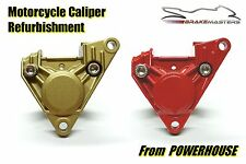 Aprilia RS 125 rear brake caliper refurbishment service 1999-2005