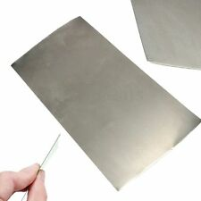 High Purity Nickel Plate Ni Foil 0.3mm x 100mm x 200mm Metal For Industry Tool