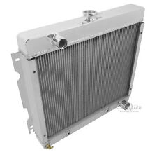 1971-1972 Plymouth Duster All Aluminum 3 Row Champion Radiator
