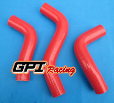 FOR Mazda Miata MX-5 NA6CE B6ZE 1.6L RADIATOR SILICONE HOSE KIT 1989-1993 ,RED