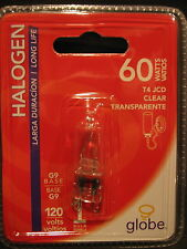 10 PCS Halogen Bulb 60W 60 Watt G9 Base T4 110V Clear Long Life NIB