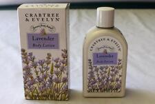 NIB? Crabtree & Evelyn Lavender Perfumed Body Lotion 8.5 FL.OZ 250ml