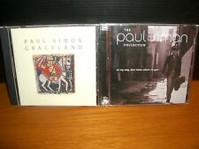 PAUL SIMON The Collection On My Way Don't Know Where I'm Goin' + Graceland NM CD