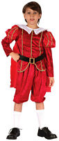 Tudor Boys Prince Medieval King Christmas Costume Outfit New Ages 4 6 8 10 12