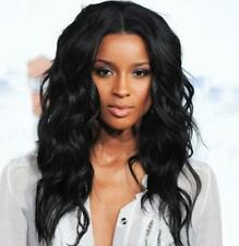 Wigs Fashion Women Sexy Party Long Curly Black Mixed Natural Synthetic Wig HY.8