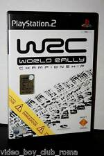 WRC WORLD RALLY CHAMPIONSHIP GIOCO USATO PS2 BUONO STATO EDIZIONE ITALIANA  FR1