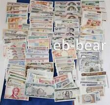 Lots 100 Pcs Different World Paper Money 30 Countries Banknotes Uncirculated UNC