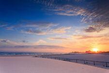 Australian KIRRA COOLANGATTA beach sunrise australia  print photo art