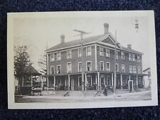 Early 1900's The Centra House in Evansville, Wi Wisconsin PC