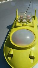 VINTAGE SPACE TOY ROCKET MOONROVER METEOR 1960s BATTERY OPERATE ORIGINAL STRAUME