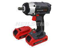 18V Cordless Impact Wrench Brushless Motor 2 x Batteria al litio 2 Velocità Cambio