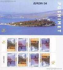 EUROPA CEPT 2004 - ALBANIEN MARKENHEFT MH 8 TEILGEZÄHNT - EUR 50,00