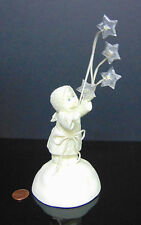 Dept 56 Snowbabies MAGIC IN THE AIR Night Light Up Stars Fairy Angel FIGURINE!