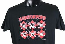 HORRORPOPS Circa 2005 T-SHIRT X-Large Black Psychobilly Punk Tiger Army Meteors