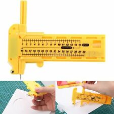 Coupe de Cercle Compas Circle Cutter 1cm - 30cm + 6 lames de Rechange  + 3 Leads
