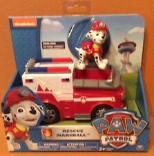 PAW PATROL VEHICLE SET Marshall's Rescue Fire Truck