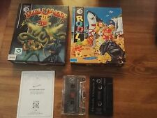 Double Dragon III 3  & Rodland Edition Storm Software boxed - Commodore 64 128