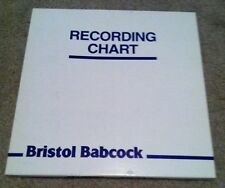 NEW Bristol Babcock Recording Chart Paper Model 2359, 100 Count Tyco 1P00087825